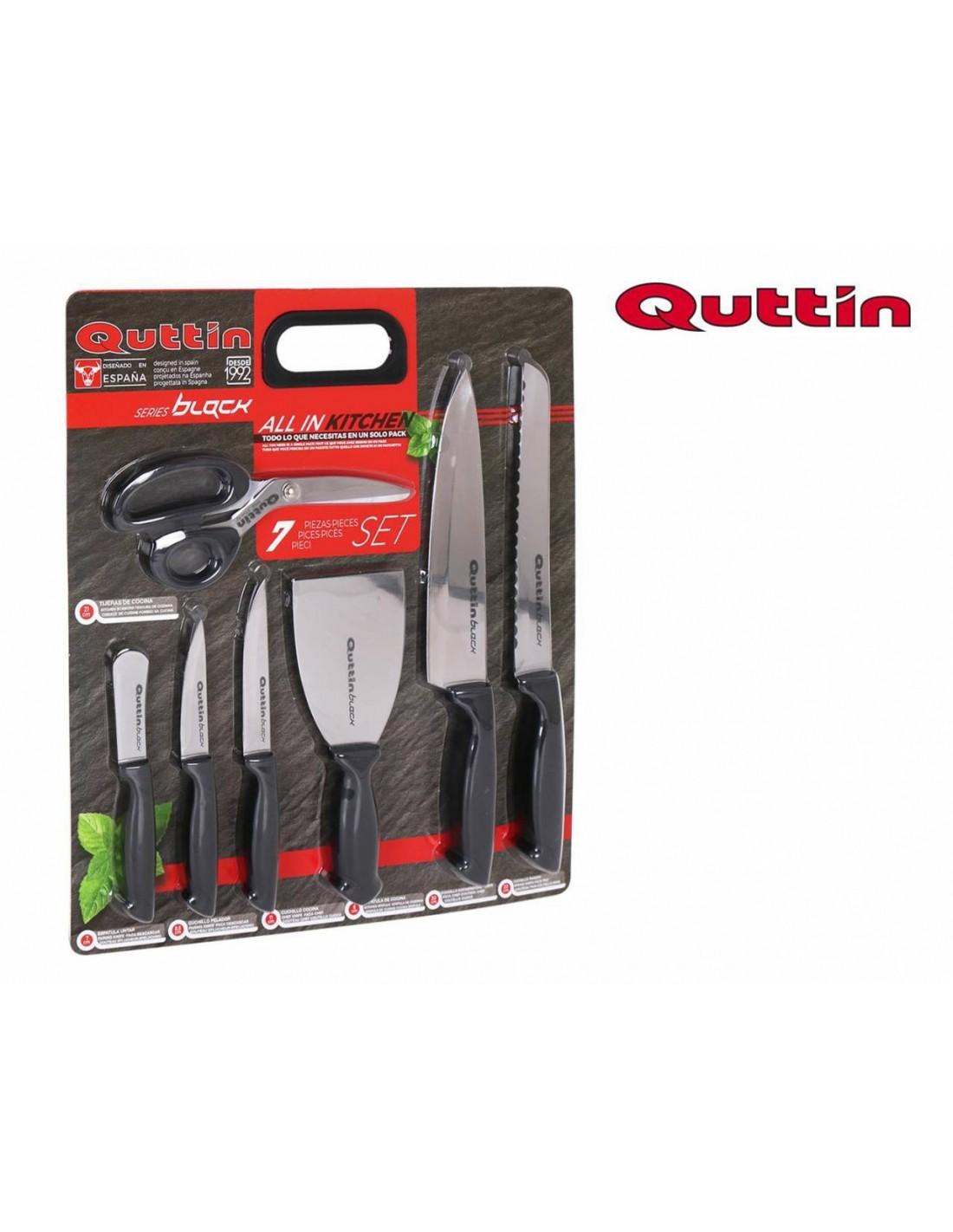 Juego de cuchillos cocina black 7pz - Juego de cuchillos de cocina ...